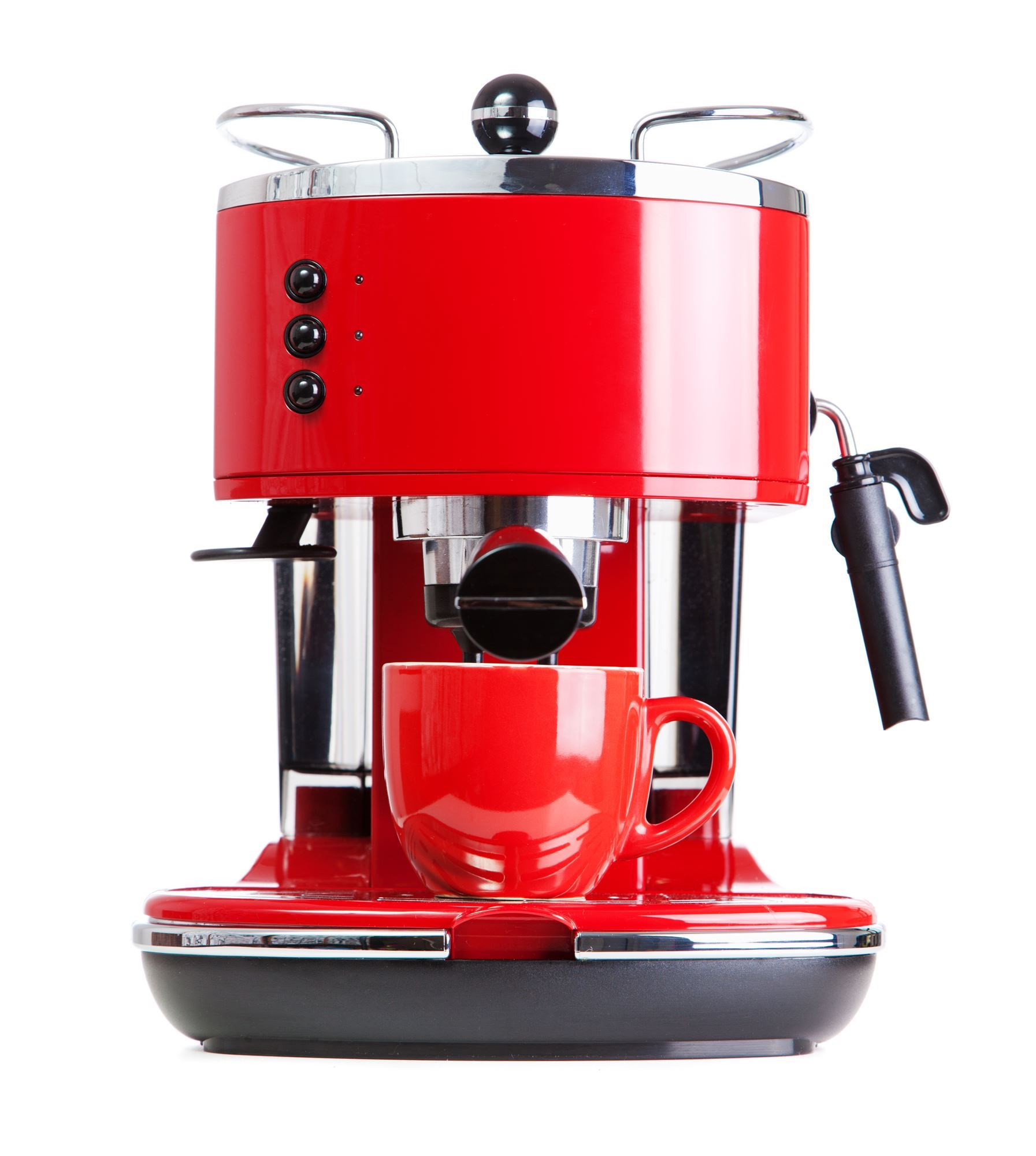 Retro Red Coffee Blender