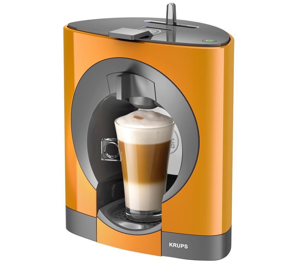 Krups Orange Espresso Maker